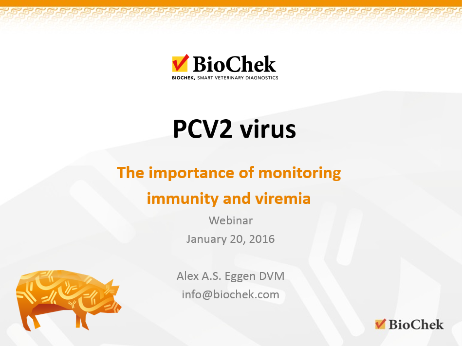 NOW AVAILABLE ON DEMAND: WEBINAR: PCV2: The importance of monitoring both immunity and viremia