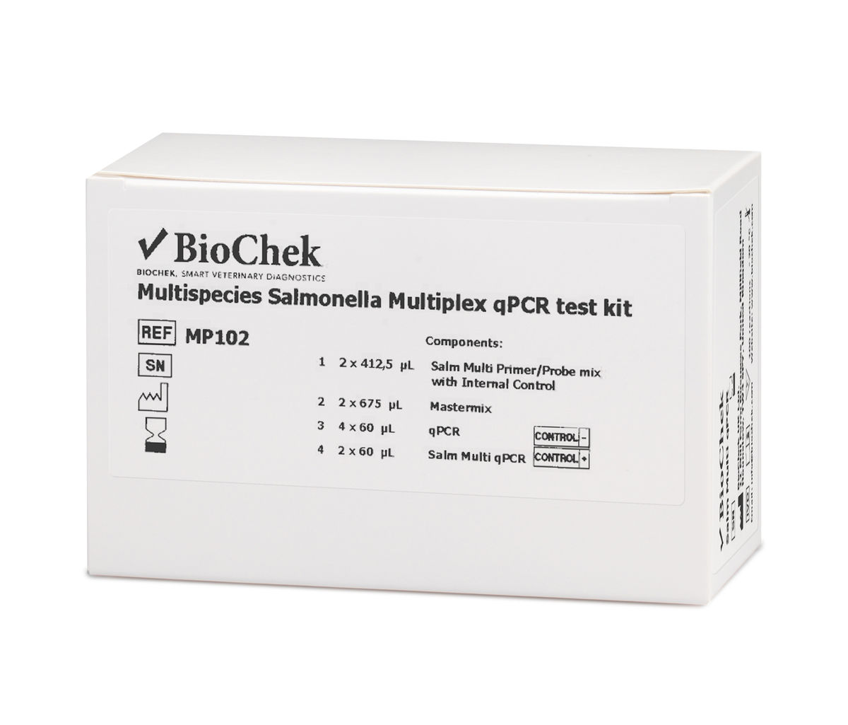 Multispecies Salmonella Multiplex qPCR MP102