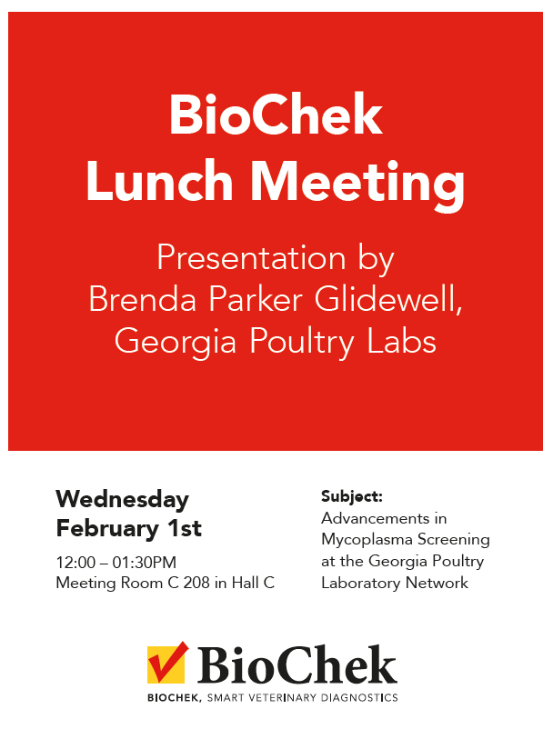 BioChek Lunch Meeting at IPPE 2017
