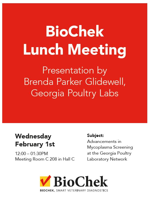 BioChek IPPE Lunch Meeting