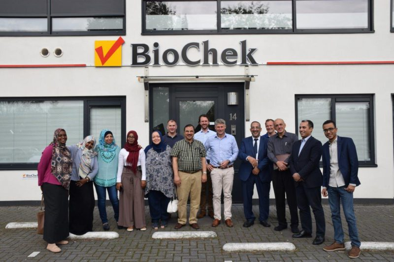 BioChek Lab Training group photo