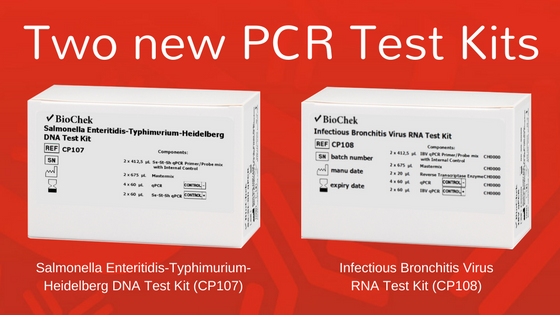 Two new PCR Test Kits