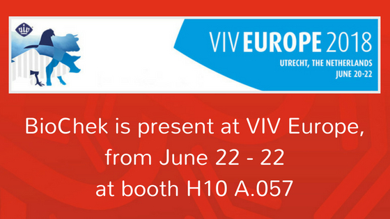 BioChek is present at VIV Europe,