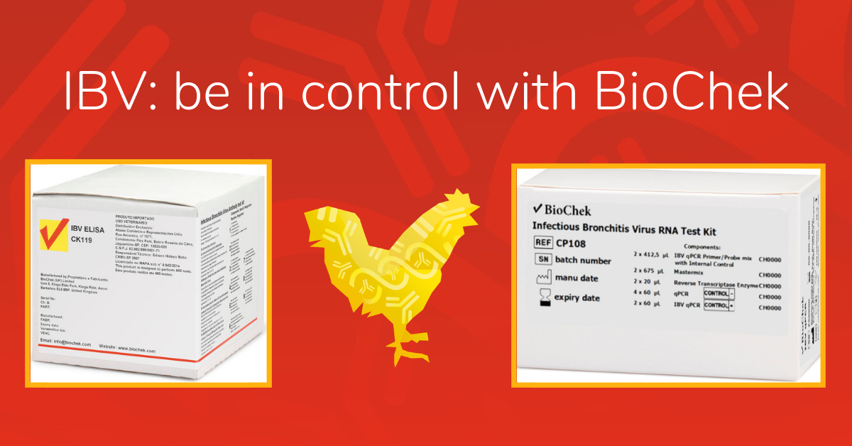 Be in control with BioChek IBV test kits