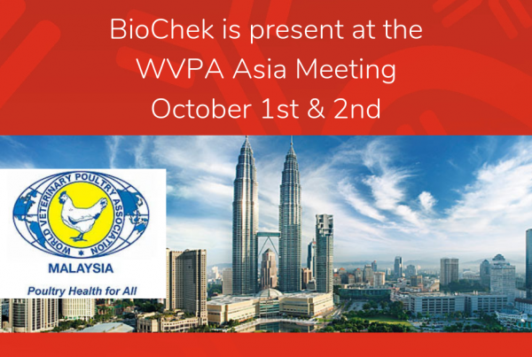 BioChek is present at the WVPA
