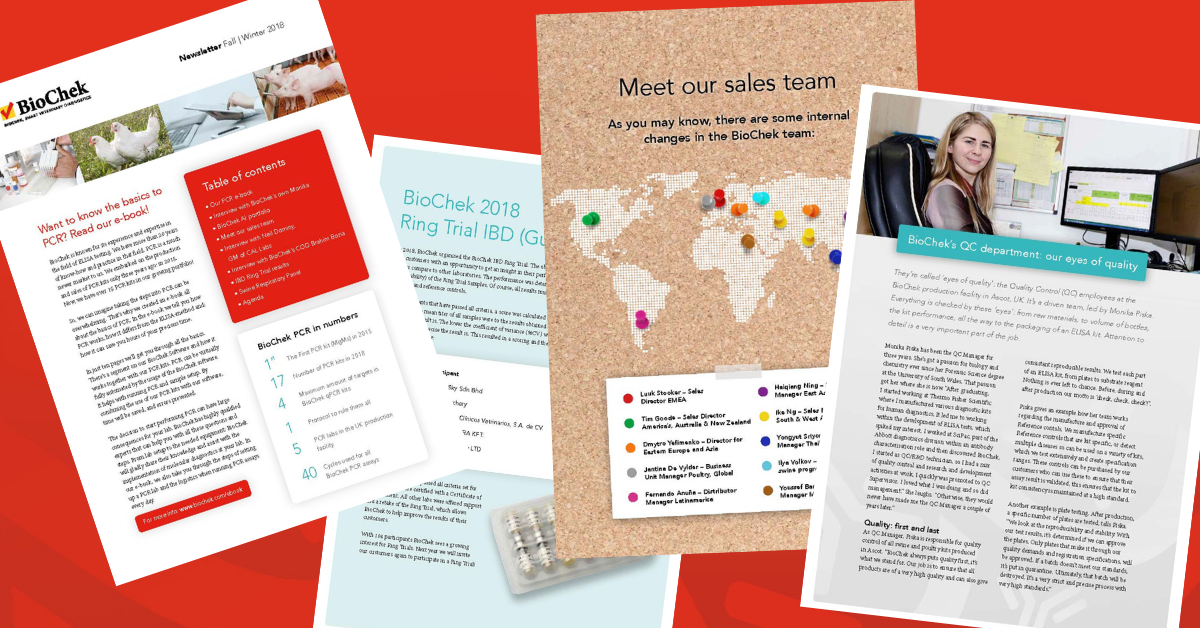 BioChek Customer Newsletter