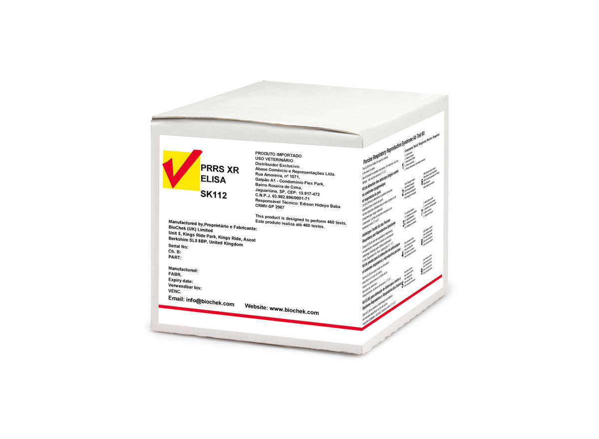 PRRS XR - Porcine Respiratory Reproductive Syndrome Ab Test Kit
