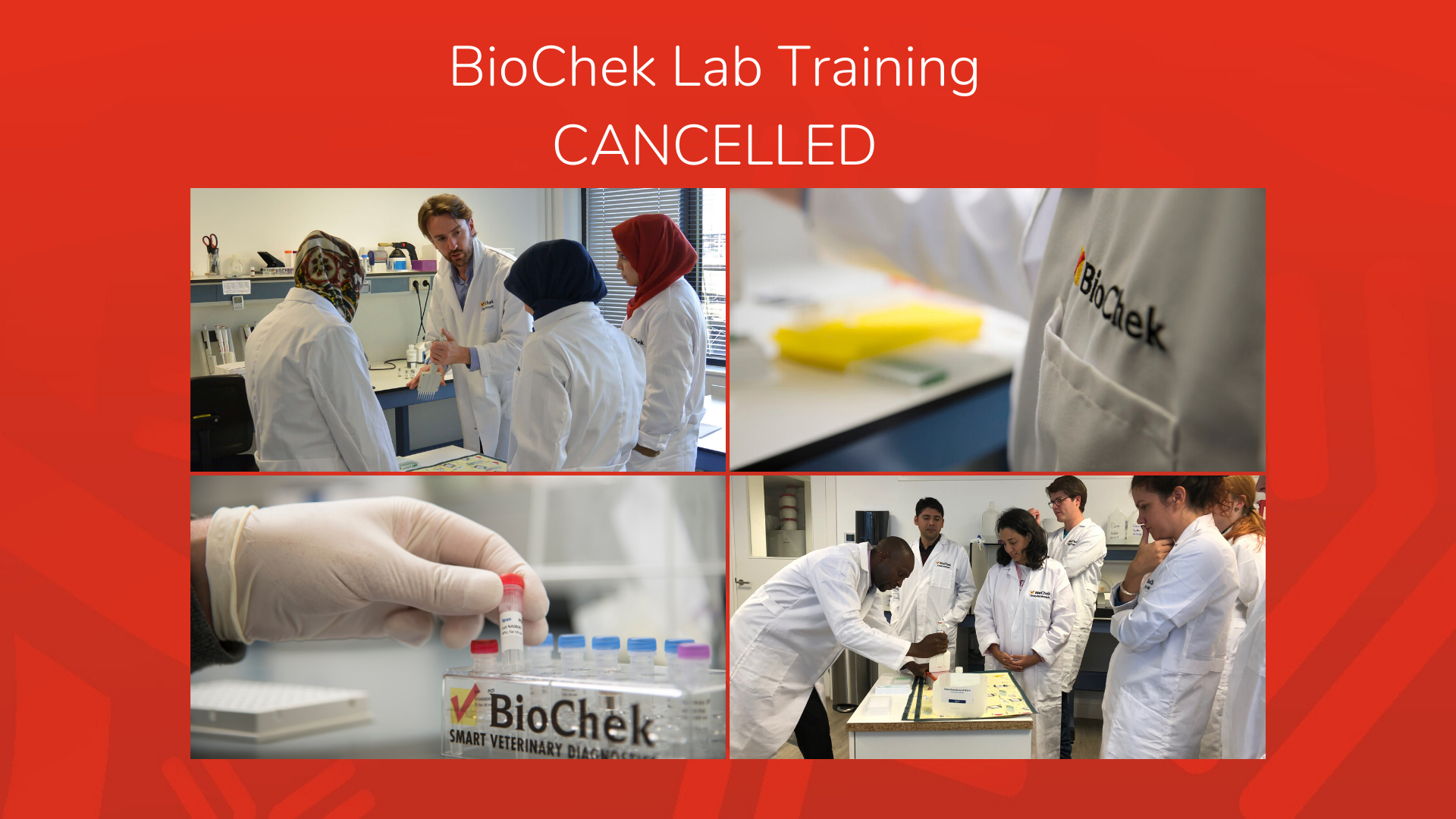 CANCELLED: the BioChek ELISA and PCR Lab Training